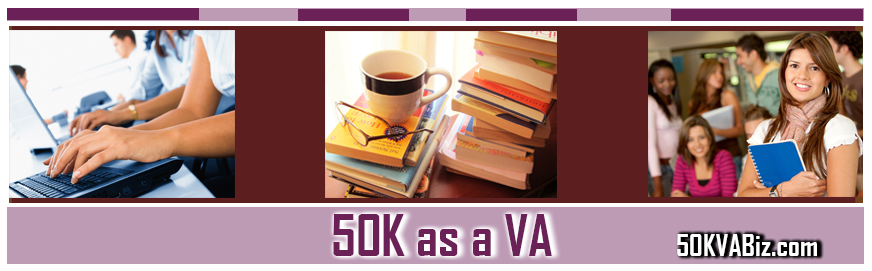 Earn 50K as a Virtual Assistant